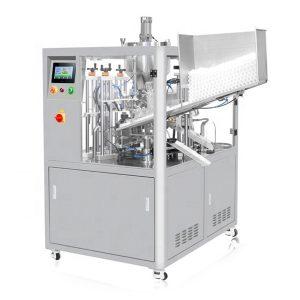 Ultrahangos tömítő kozmetikai cső töltőgép