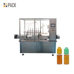 Perisztaltikus szivattyú folyadékot töltő gép kis üvegcsékhez