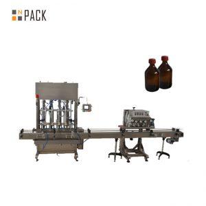 Automatikus orsókapcsoló PET műanyag palack fedél lezáró gép