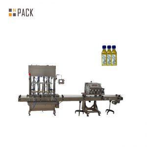 Automatikus 2 fúvóka gél körömlakk töltőgép palack feltöltő gép