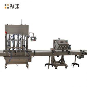 Asztali perisztaltikus szivattyú-ampulla üveges lezáró és lezáró gép