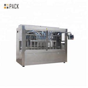 automatikus mustárolaj-feltöltő gép