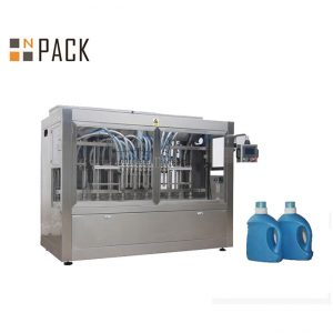 Automatikus Liquid 10 fúvóka mustárolaj Palackcsomagoló gép