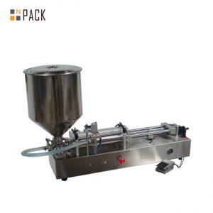 Nagyon népszerű fagylalt töltő gép / dupla fejű töltő gép / körömlakk töltőgép