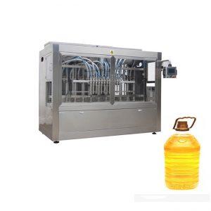 Teljesen automatikus mustár pálma étkezési olajat töltő csomagológép