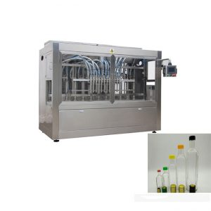 automatikus üveg palack eper lekvárral töltő gép