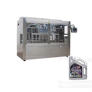 Automata motorolaj-töltő gép műanyag palackhoz
