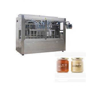 Olcsó töltőcsomagoló jar méz palackozó gép