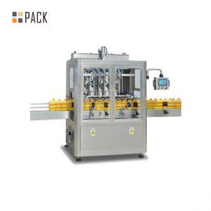 Automatikus jar-töltő csomagológép / 5 gallonos mosó kupakkal töltő gép