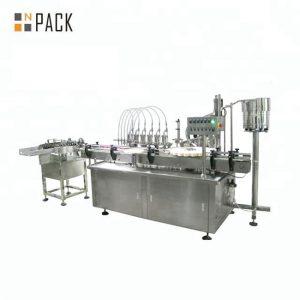 10ml 30ml 50ml kerek üveg palack kozmetikai illóolaj kitöltő palackozó gép