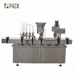 Automatikus 10 ml-es 15 ml-es 30 ml-es e-folyadék szemcsepp-csepegtető palacktöltő készülék
