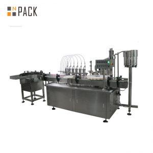 Automatikus több fejű folyékony és tejszínes digitális töltőgép
