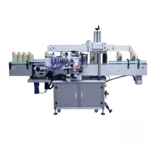 Kis üveg automatikus öntapadós matrica címkéző gép, automatikus palack ragasztó címkéző gép